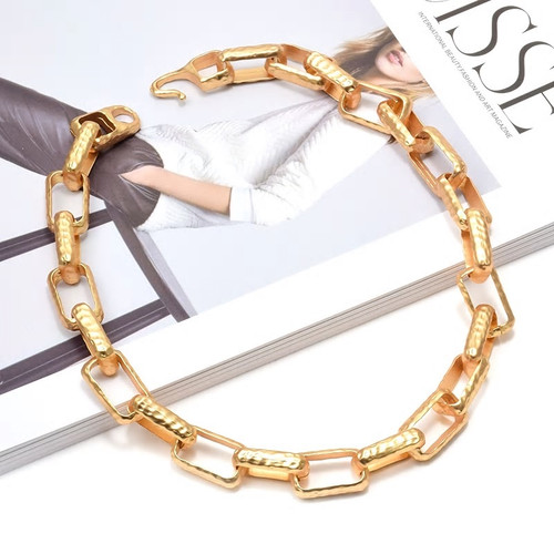 Mini Links Gold Necklace