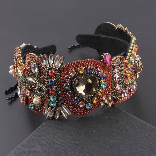 Vintage Jeweled Headband