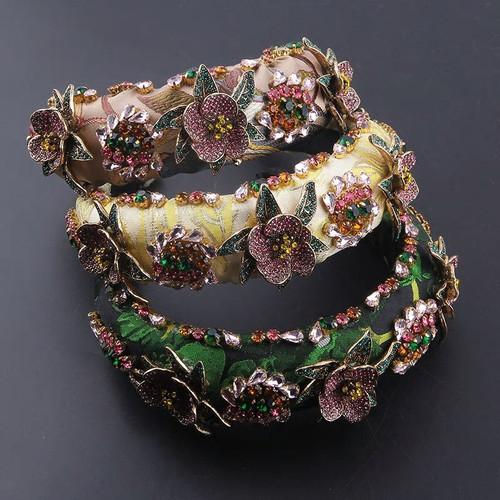 Handmade Jeweled Crown Headband