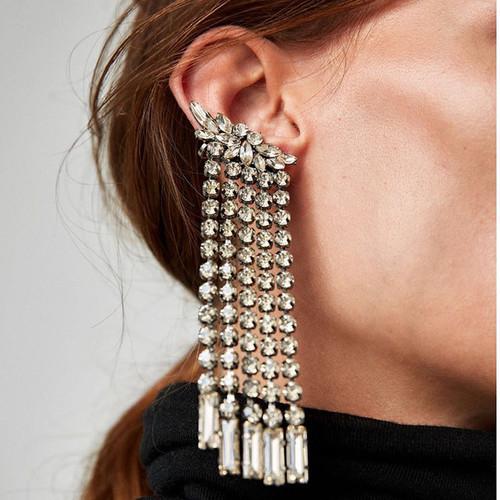 Drop Dangle Charm Statement Earrings