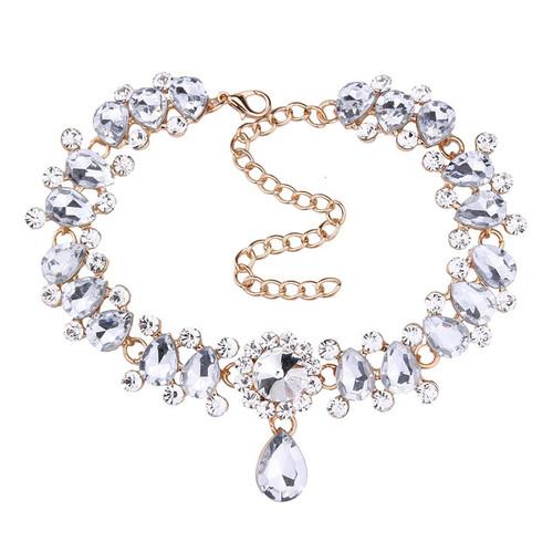 Mini Rhinestone Choker Necklace