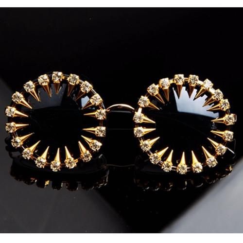 Rivet and Rhinestone Sunglasses