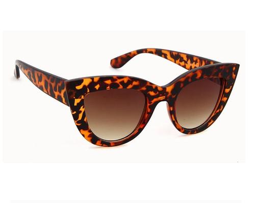 Tortoise Color Cat Eye Sunglasses