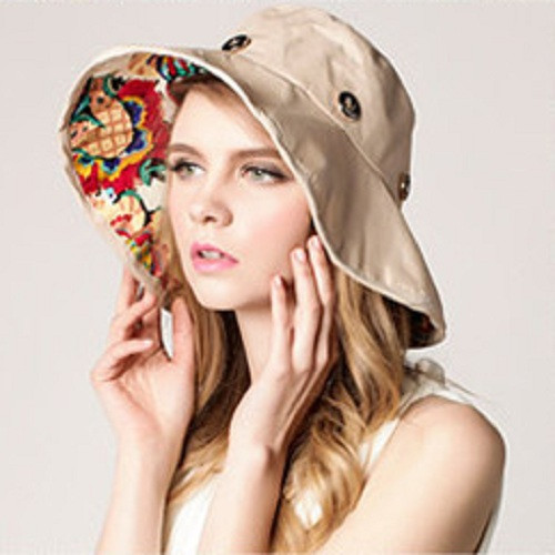 Two in One  Beach Detachable Sun Hat