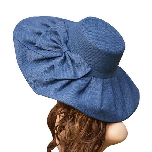 Medium brim Linen Sun Hat