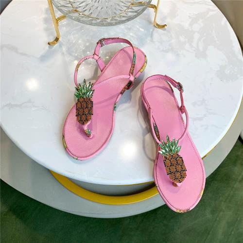 Jeweled Pineapple  Sandals