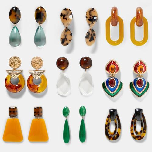 Resin Fashion Earrings