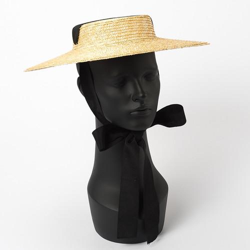 Vintage Style Boater Hat