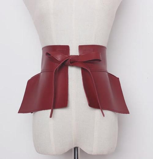 Corset Tie Belt