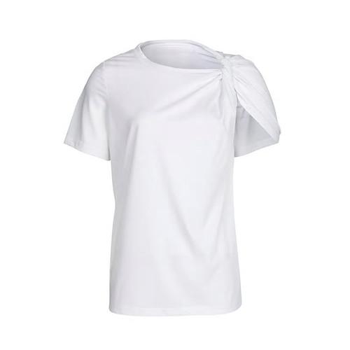 Twisted Shoulder TShirt