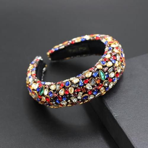 Baroque Jeweled  Multi2 Headband