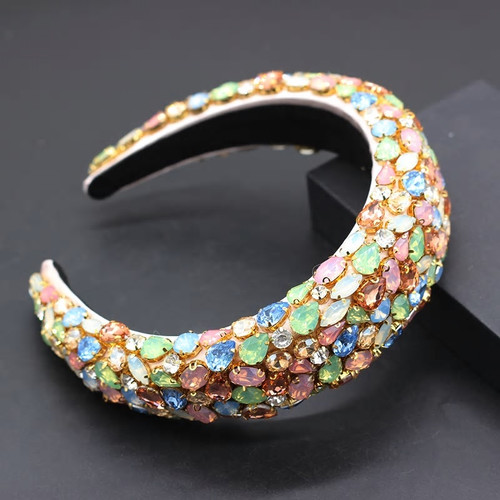 Baroque Jeweled  Multi4 Headband