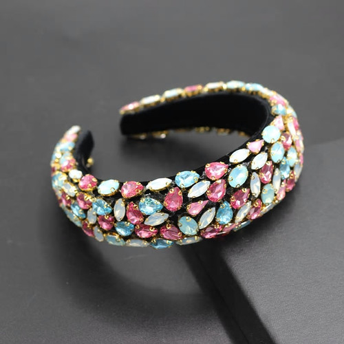 Baroque Jeweled  Multi7 Headband