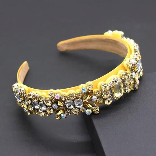 Pastel Gem and  Crystal Headband1