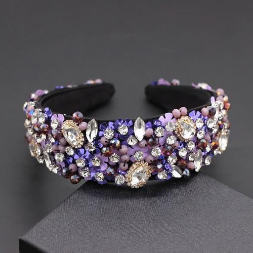 Gem and  Crystal  Baroque Headband4