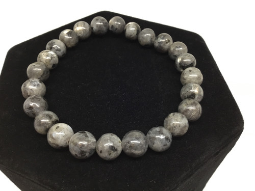 Black Labradorite 8mm Bracelet