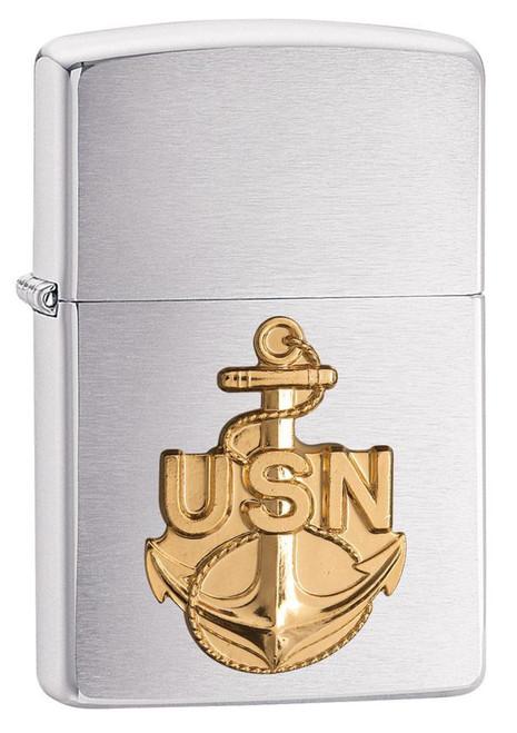 Navy Anchor Zippo 280ANC