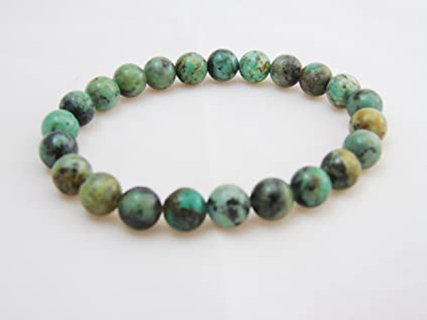 African Turquoise 8mm Gemstone Bracelets