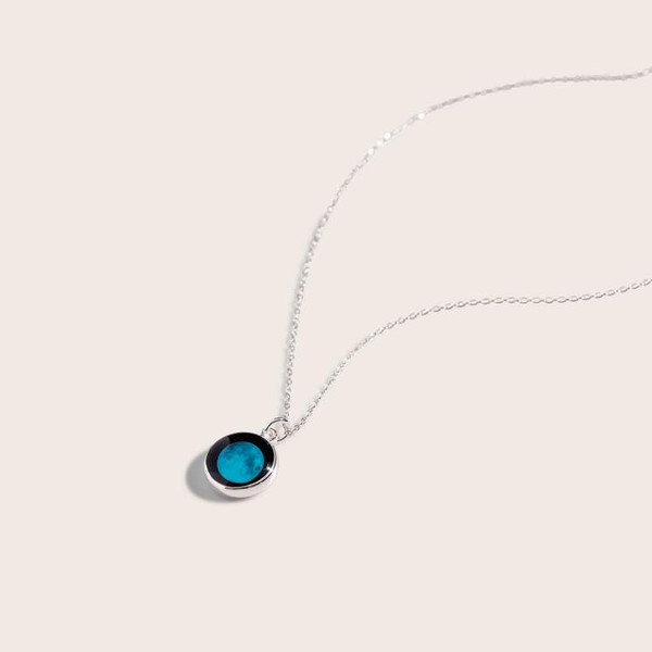Silver Moonglow Necklace