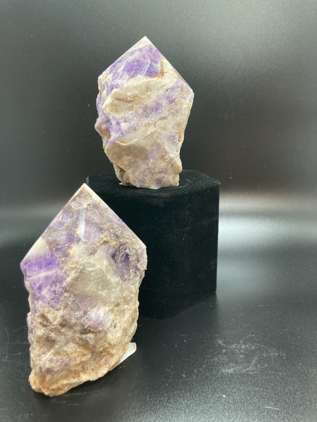 Banded Amethyst Polished Standing Point