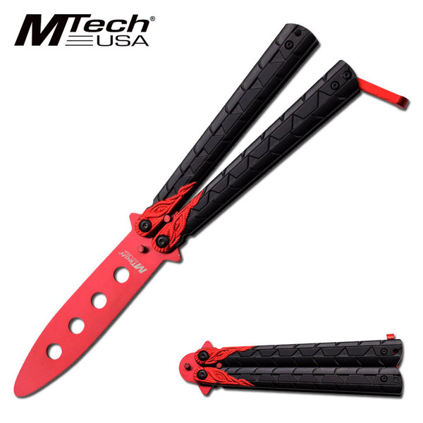 Butterfly Knife Trainer Red