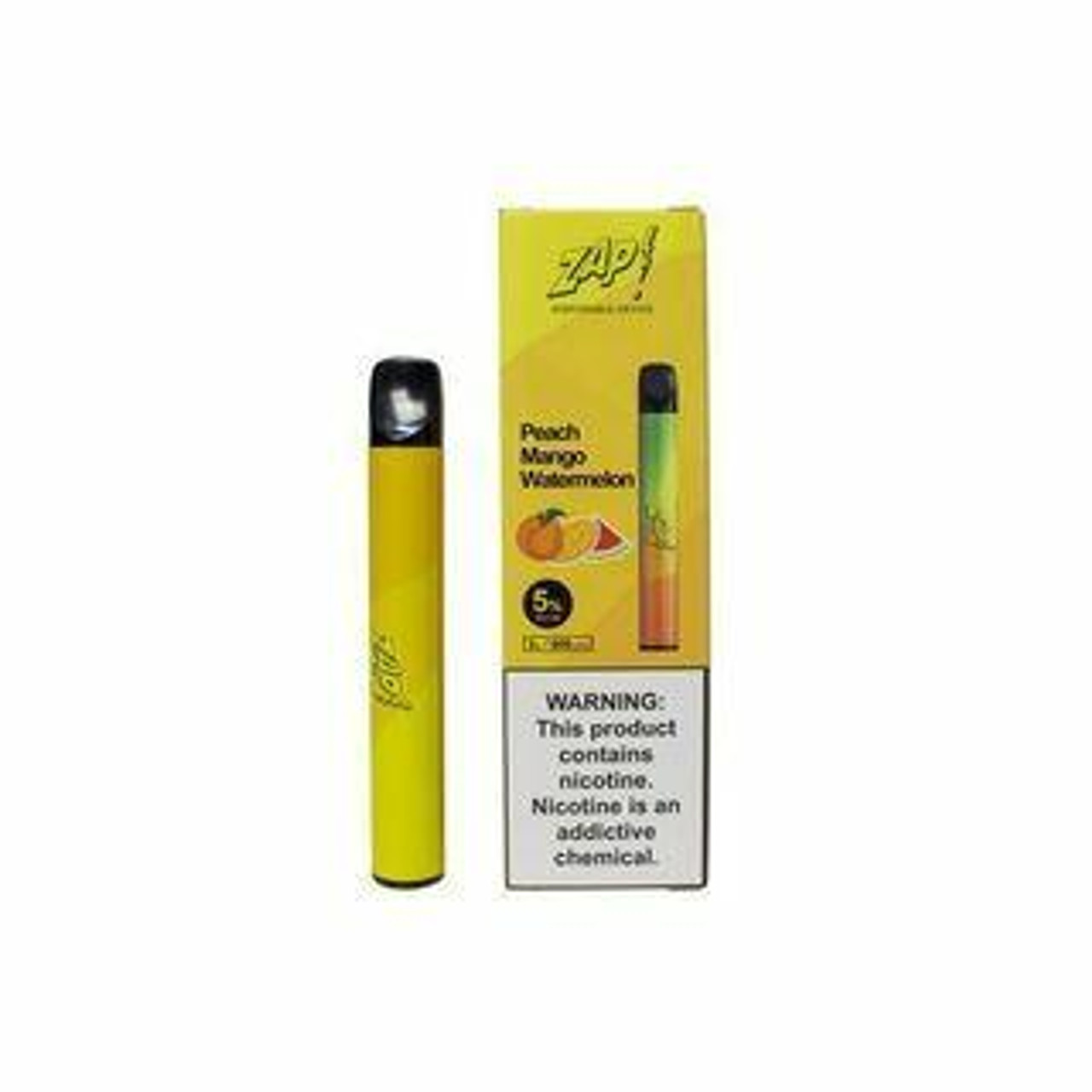 zap Zap Disposable - 5percent 600 Puffs - 10pk at The Cloud Supply