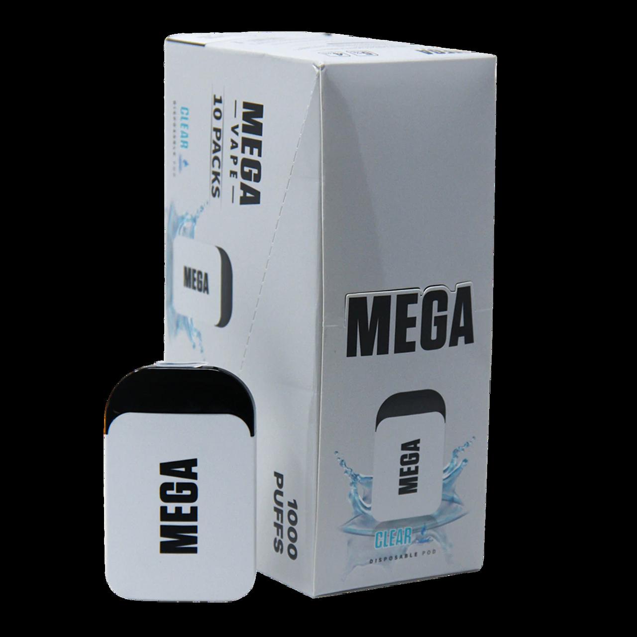 Mega Vape MEGA Vape Disposable V2 - 5percent 1000 Puffs - 10pk at The Cloud Supply