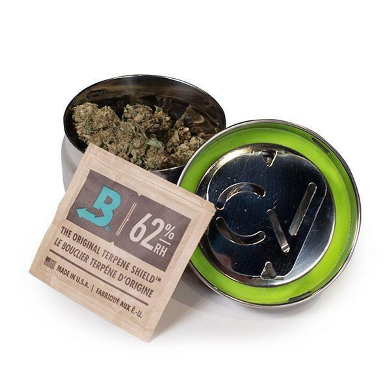 CVault CVault Small Container Twist Top With 8 Gram Boveda at The Cloud Supply