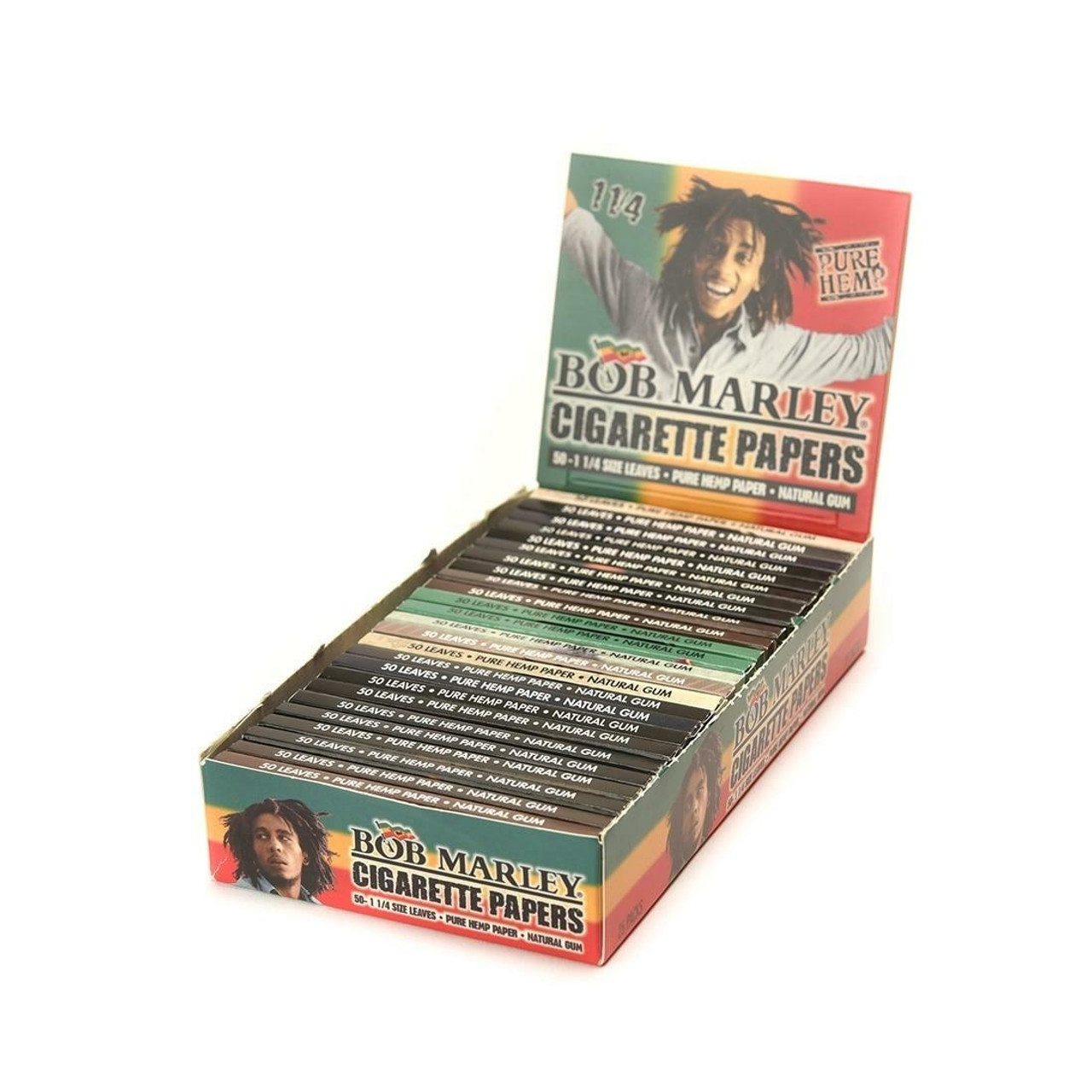 Bob Marley Bob Marley Pure Hemp Original Rolling Papers 1 1/4 1.25 at The Cloud Supply
