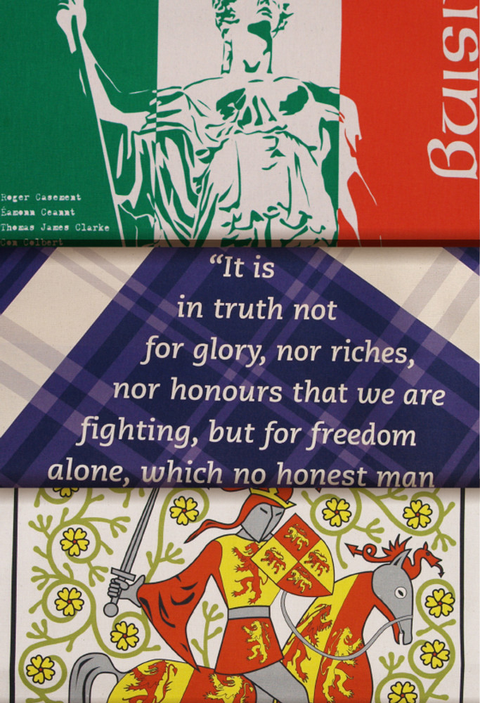 Celtic tea towel collection