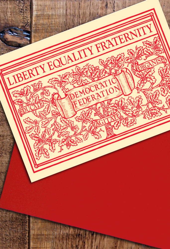 Liberty, Equality, Fraternity cards pack of 8