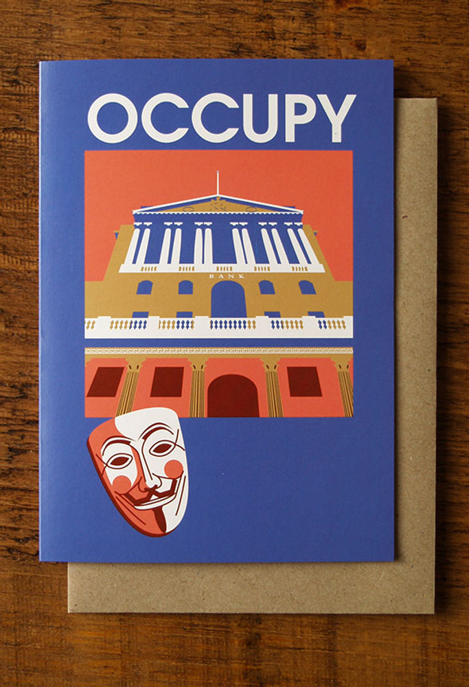Occupy cards pack of 8
