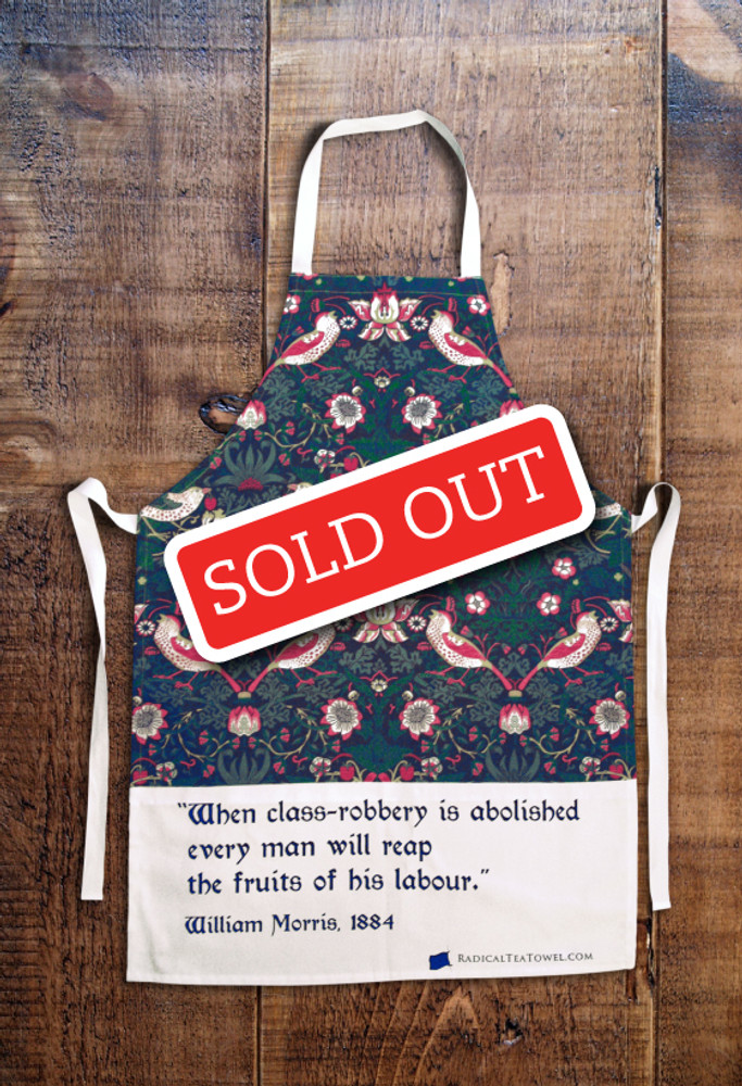 William Morris apron (regular)