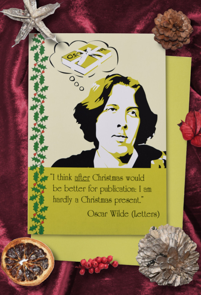 Radicals at Christmas: Oscar Wilde Christmas cards pack of 8