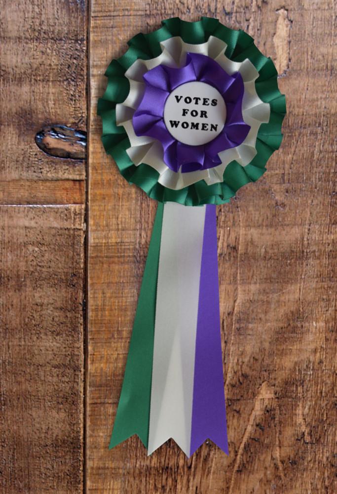 Votes for Women rosette