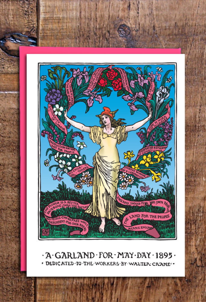 May Day 1895 cards pack of 8