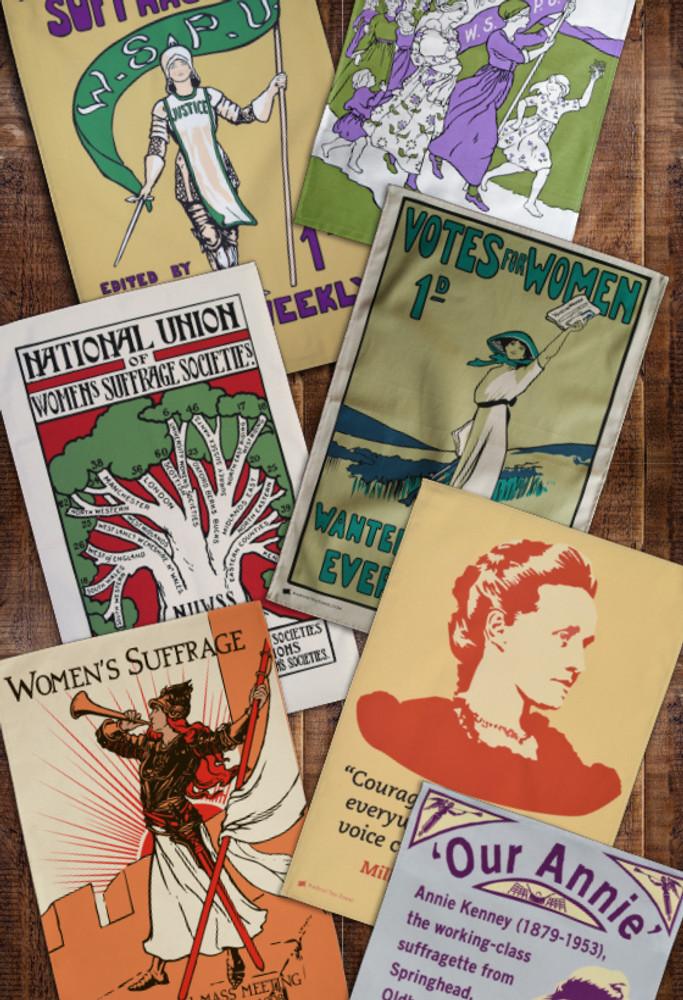 Tea towel subscription: Women's Suffrage