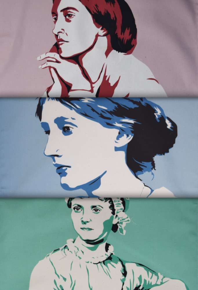 Women Writers tea towel collection