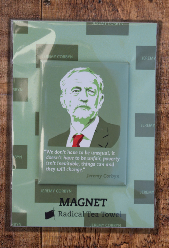 Jeremy Corbyn Equality fridge magnet
