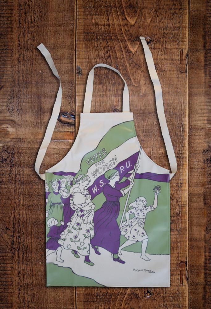 Women's March child's apron