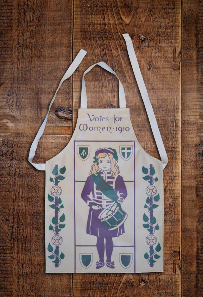 Drummer Girl child's apron