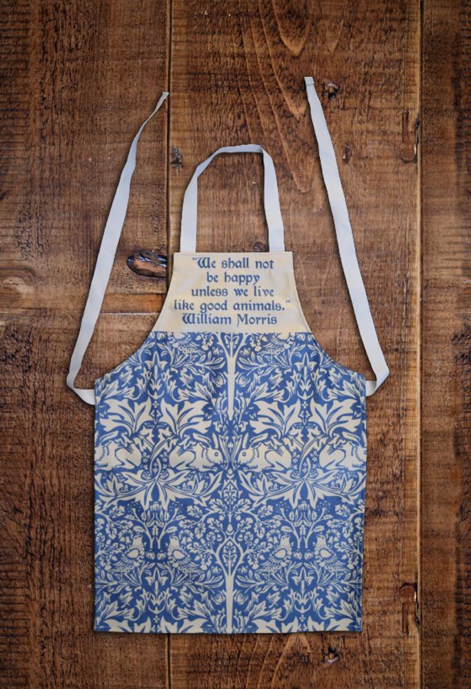William Morris Animals (Brer Rabbit) child's apron