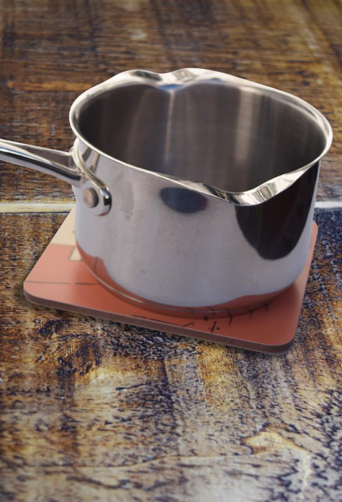 Bugler Girl pot stand