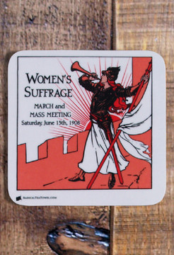 Suffrage coaster collection, set of 6