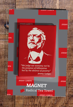 Jeremy Corbyn on the Economy fridge magnet