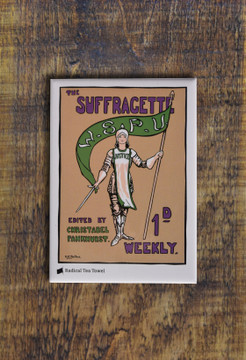 Women's Suffrage magnet collection