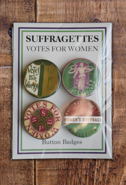 Suffrage badge set