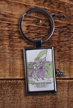 Women's March key ring