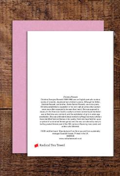 Christina Rossetti greetings cards