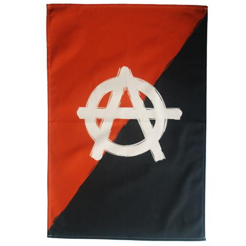 Anarchism tea towel